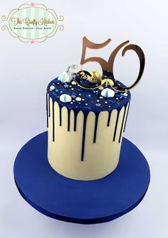 we provide bespoke wedding and celebration cakes in the Vale of Glamorgan, Cardiff and South Wales area. Chocolate Drip Cake Birthday, Birthday Drip Cake, Birthday Cake With Flowers, Beautiful Birthday Cakes, 60th Birthday Cake For Men, 19th Birthday Cakes, Birthday Ideas, Blue Drip Cake, Cupcake Cake Designs