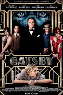 The Great Gatsby:  Baz Luhrmann has never looked sexier. Also pretty stoked for the soundtrack.