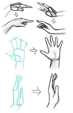 Desenho de Mãos