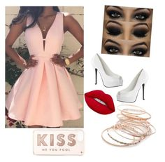 """."" by gustavia5347 ❤ liked on Polyvore featuring Lime Crime, Red Camel and Kate Spade"