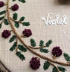 French knot raspberrys