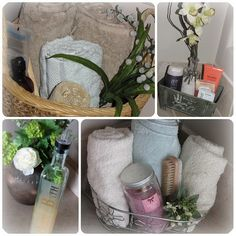 cool basket ideas for bathroom