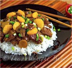 This recipe for Slow Cooker Chinese Beef with Mandarin Oranges is one of those slow cooker Chinese food recipes that's perfect if you're cra...