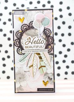 Crafty by AgnieszkaBe: new baby New Baby Cards, Hello Beautiful, I Card, New Baby Products, Crafty, Art, Art Background, Kunst, Gcse Art
