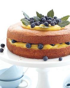 Sweet Paul's Berries & Lemon Curd Cake