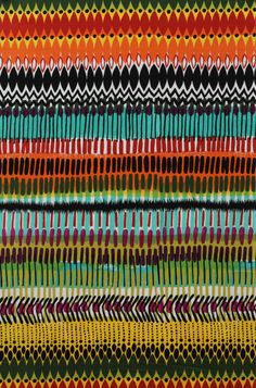 Matchstick in Black and Teal by Alexander Henry by sewfreshfabrics