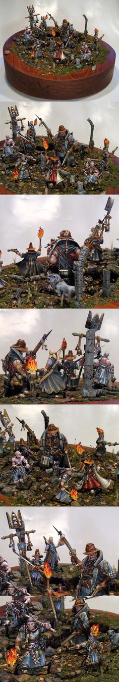 Witch Hunters Warband