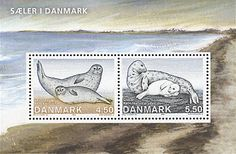 Denmark seal stamps