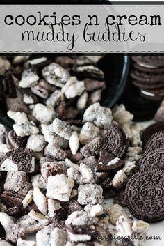Mandy's Recipe Box: Cookies N' Cream Muddy Buddies