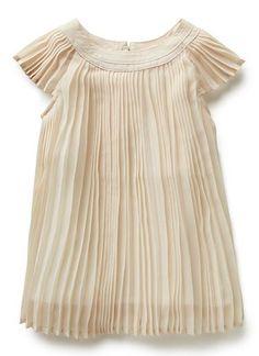 Aug Bg Pleated Dress | Seed Heritage