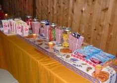 snack table...