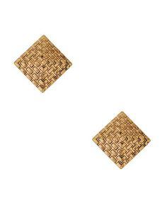 gold stud earrings $5