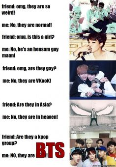 If ARMY tries to explain... | allkpop Meme Center