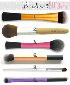 makeup your mind: Brushes on a Budget!