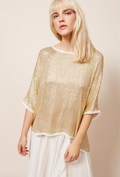 871eb605fe6684 clothes store Top Pharcyde french designer fashion Paris Sequin Shirt, French  Fashion Designers, Clothing