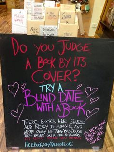 Blind date with a book.  Kaleido books, Australia.