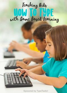Learn to Type with game based learning, tips and classroom ideas for teaching kids how to type. Sponsored by Typtastic! Learn To Type, Dyscalculia, Child Life, Dyslexia, Pretend Play, Teaching Kids, Technology, Activities, Classroom Ideas