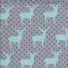 Forest Deer Knit Grey Sold in 50cm increments. – Width152cm– 95% cotton 5% Spandex– 250 gr/m2 If you wish to purchase multiples, fabric will be cut continuous