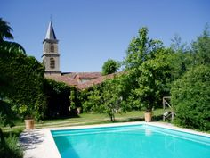 Pool at Le Vieux Presbytere in the Gers, South West France: www.escapetogascony.com