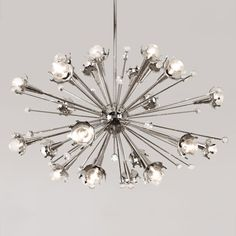 Thanks, Jonathan Adler, for the reminder that the Sputnik Chandelier is back in stock.