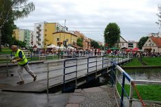 Most obrotowy w Giżycku        080815-0043 by gaetanku, via Flickr    #Giżycko