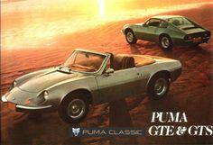 Puma Classic: Banco Puma GTE / GTS 1979 e 1980