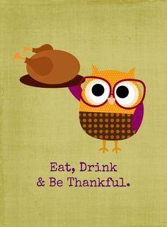 Free Thanksgiving {Printables}