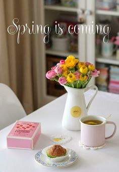 cafenoHut: Neredeyse Bahar - Almost Spring...