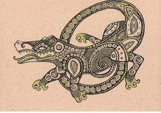 New alligator tattoo?