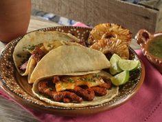 Receta de Los Tacos al Pastor al Estilo Chef Roger