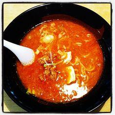 120506 一代元@恋ヶ窪 一介流担々麺 黒 790円 #ラーメン #担々麺 #noodle #dandannoodle #tantanmen #ramen - @ogu_ogu- #webstagram