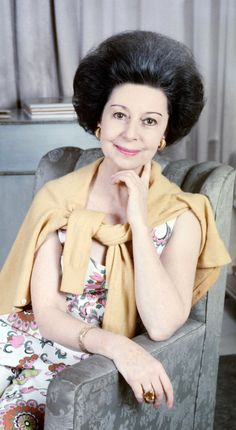 Dame Alicia Markova taken in her apartment London, circa 1972
