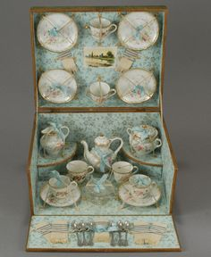 French Porcelain Tea Service