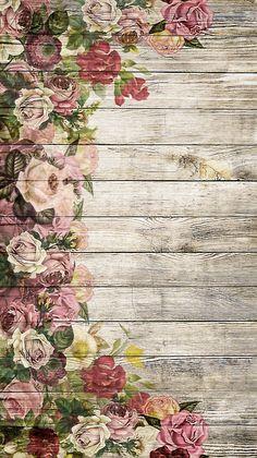 Flower Background Wallpaper, Flower Phone Wallpaper, Flower Backgrounds, Flower Wallpaper, Wallpaper Backgrounds, Bicycle Wallpaper, Frame Floral, Monogram Wallpaper, Decoupage Vintage