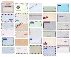Airmail typology.