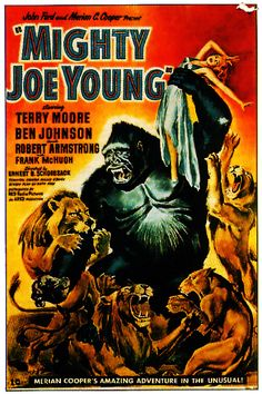 Mighty Joe Young - 1949. #monster #ape