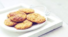 Mango gemberkoekjes/ mango ginger oatmeal cookies (recipe is in Dutch) Oatmeal Cookie Recipes, Oatmeal Cookies, Healthy Snacks, Healthy Recipes, Ginger Cookies, Mango, Gluten Free Recipes, Sugar Free, Almond