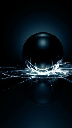 Artistic Wallpaper, Glitch Wallpaper, 3d Visualization, Glass Ball, Planets, Balls, Sci Fi, Wallpapers, Iphone
