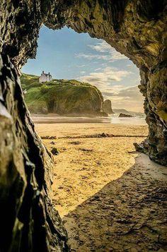 Llangrannog, Cardigan Bay, Wales   Photo by Gary Atherton, Flickr:  https://www.flickr.com/photos/125656183@N04/16214562121/  Llangrannog Beach Cardigan Bay:  http://www.cardigan-bay.com/llangrannog-beach-cardigan-bay.php