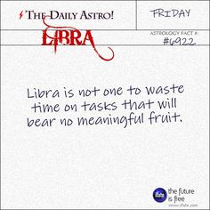 Libra Daily Astro!: Your free astrology birth chart is waiting for you.  Visit iFate.com today!