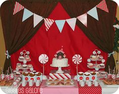 Vendor Credits:  Printable Designs & Party Package: Dimpleprints  Fondant Cupcake Toppers & Fondant Gingerbread House: Edible Details  Cookies (Gingerbread House, Boy & Girl): Sugarlily  Photos & Party Styling: Giggles Galore
