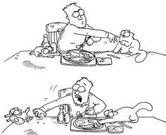 Иллюстрация 8 из 16 для Кот Саймона: Испытание котенком - Саймон Тофилд…