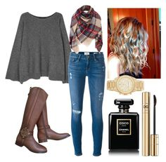 """""""Untitled #246"""" by emmasorrell on Polyvore featuring The Row, Frame Denim, Tory Burch, Chanel, Dolce&Gabbana and MICHAEL Michael Kors"""