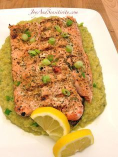 Jesse's Grilled Wild Coho Salmon recipe with helpful tips and a few different types of salmon explained on JoyAndSensitivity.com Inspiration from a small bottle... Easy Grilled fish #recipe