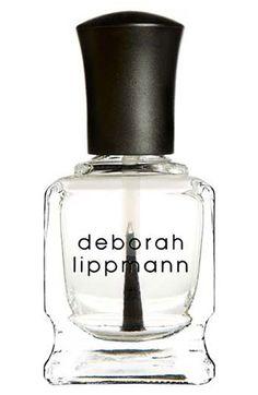 Deborah Lippmann - best top coat EVER. IN. LIFE. I promise you this!