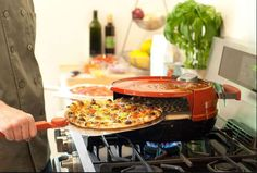 Stovetop Pizza Oven Cook Delicious Pizzacraft Pizzeria Pronto Gas For Family NEW #Pizzacraft