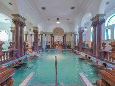 Balneario Budapest Budapest, Outdoor Decor, Home Decor, Paint, Thermal Baths, Prague, Vienna, Travel Tips, Day Spas