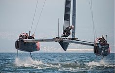 New America's Cup class revealed. Think 46 knots in 16 knots of wind and that's just the start - Yachting World Sailing Catamaran, Sailing Ships, Sailing Quotes, Yacht World, Sail Racing, Sailing Adventures, Love Boat, Luxury Yachts, Portsmouth