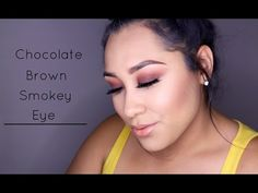 Chocolate Smokey Eye Ft. Anatasia Beverly Hills World Traveler Palette - YouTube