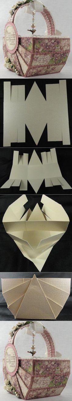 DIY Paper Basket DIY Weaving DIY Crafts